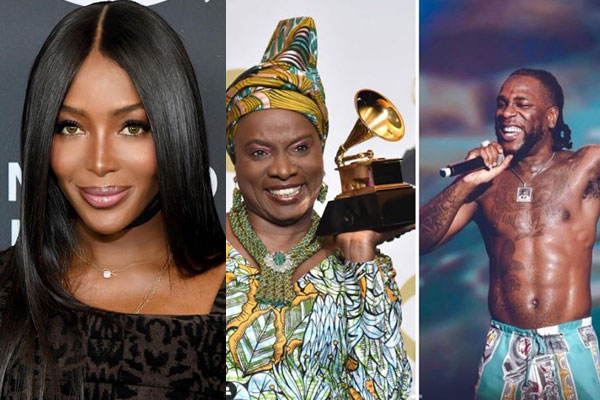 US top model, Naomi Campbell calls out the Grammy for not recognizing AfroBeat as a musical Genre