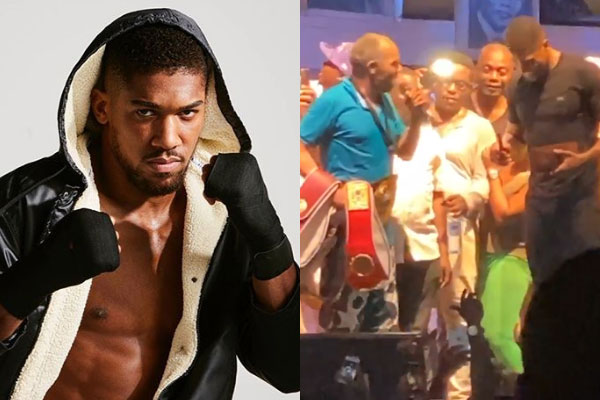 Anthony Joshua visits the New African Shrine to experience Femi Kuti's every Thursday rehearsal