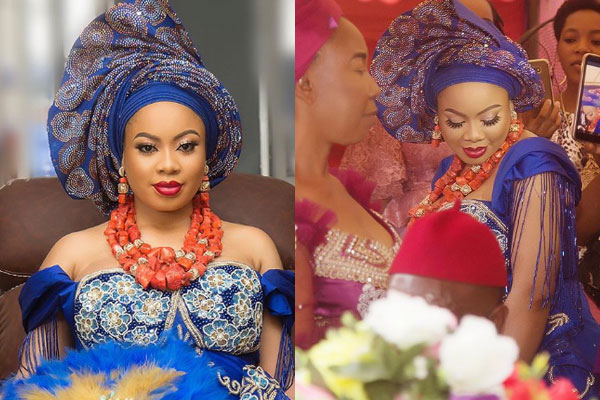 BBNaija- Nina becomes Mrs A as she weds her lover traditionally