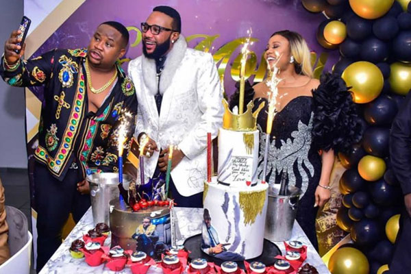 Check out Photos from E-money's lavish birthday party