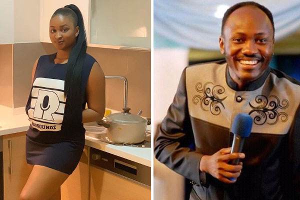 Etinosa Idemudia takes back her words about Apostle Suleman and begs for forgiveness