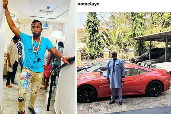 Speed Darlington Attacks Dino Melaya over the kind of wealth he has