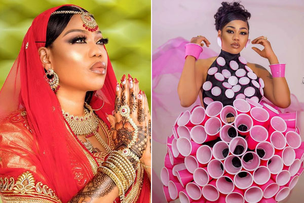 Check out Toyin Lawani's stunning outfits as she celebrates 20yrs in the fashion industry