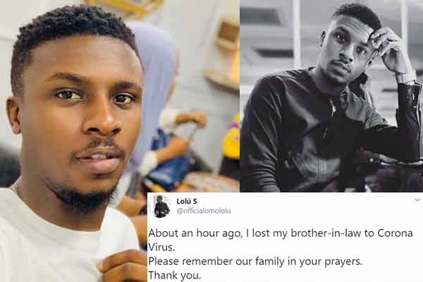 BBNaija: Lolu loses family relative to covid-19