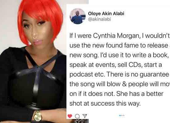 Author, Akin Alabi advises Cynthia Mogan to write a book
