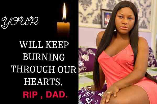 Destiny Etiko loses dad