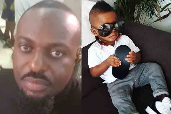 Jim Iyke gushes over his son