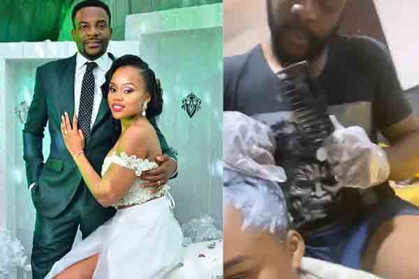 Lockdown:Ebuka's wife putting him to work