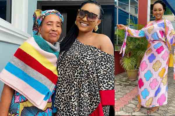 Love photo of mercy aigbe and mum