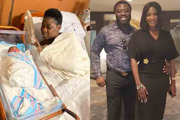 Mercy Johnson and hubby welcomes baby number 4 in the US