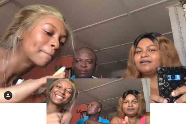 Here is a trending video of a Nigerian family. The video was shared by an upcoming social media influencer, Adedamola. In the video, Adedamola put her parents to the test to see how conversant they are with some Nigerian music and their singers.