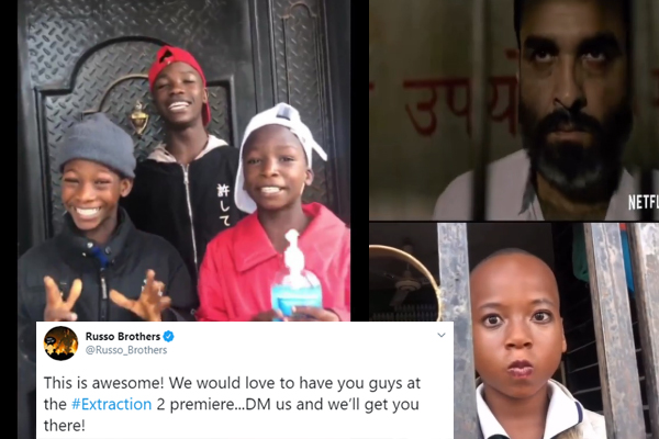 Ikorodu boy earn a spot at the movie of the Hollywood movie, Extraction 2