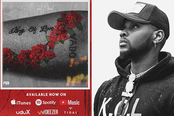 kizz daniel drops new album, King of Love