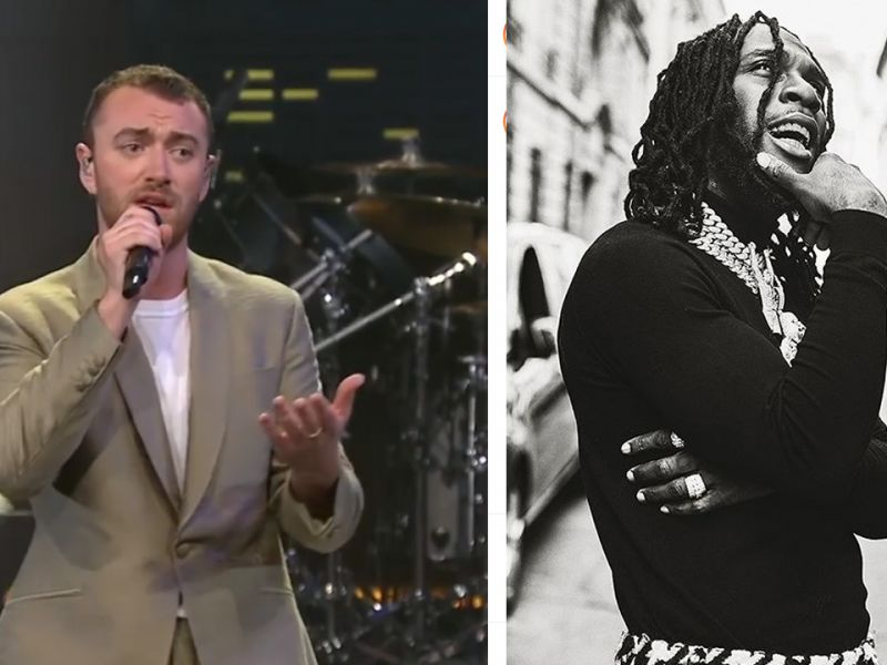 British singer, Sam Smith features Burna Boy in soon to be released song