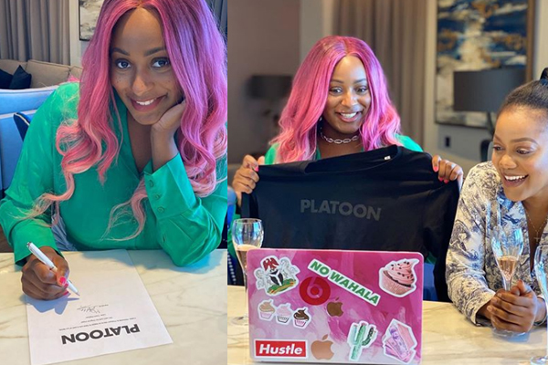 DJ Cuppy excited as she joins Platoon ahead of the release of her album