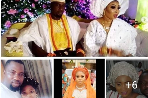 Just in: meet Lizzy Anjorin's new husband's 5 wives and their kids