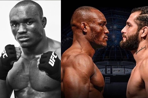 NIGERIAN BORN UFC CHAMPION, KAMARU USMAN DEFEATS Jorge Masvidal TO RETAIN TITLE