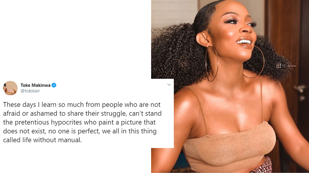Toke Makinwa: can't stand the pretentious hypocrites