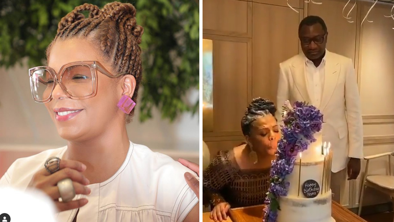 Billionaire, Femi Otedola celebrates his wife, Nana on her birthday
