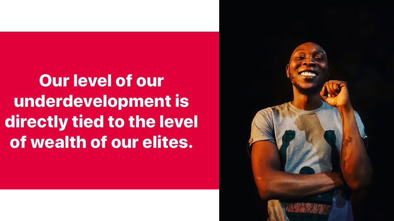Seun Kuti gives his view about development in Nigeria